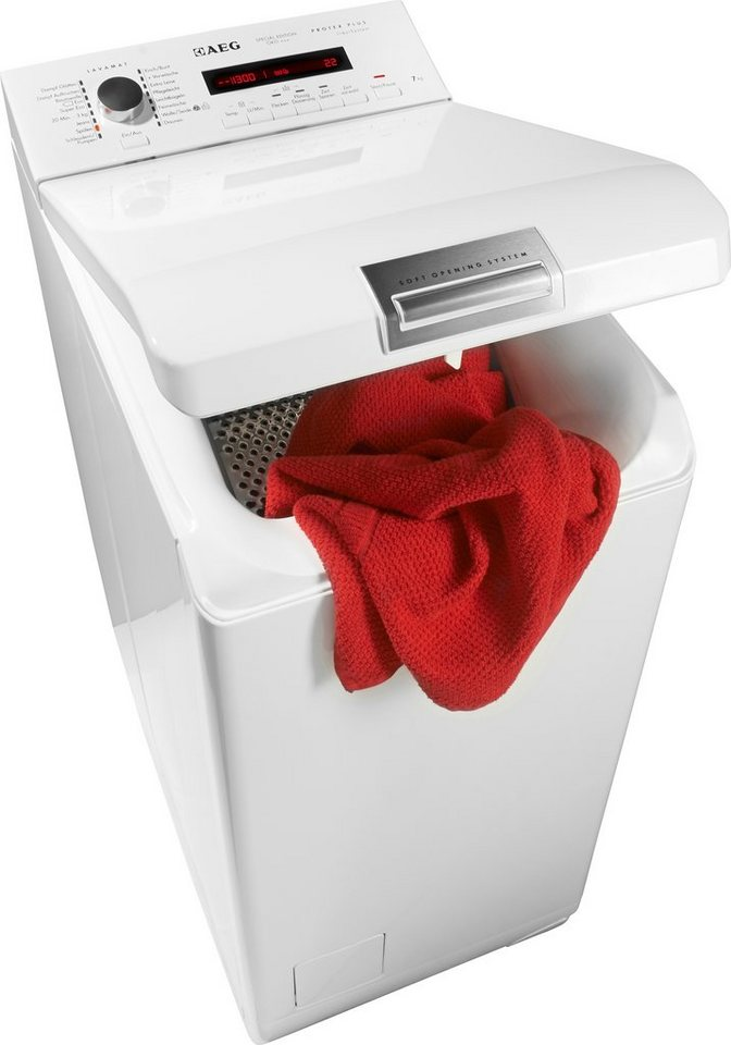aeg waschmaschine toplader l ko tl 7 kg 1300 u min online kaufen otto. Black Bedroom Furniture Sets. Home Design Ideas