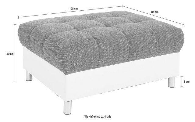 Nova Via Hocker  wahlweise mit Kaltschaum (140kg Belastung/Sitz)   Schlafzimmer > Matratzen > Kaltschaum-matratzen   Nova Via