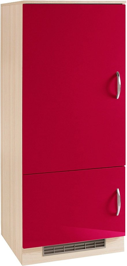 Kühlumbauschrank »Madrid« in Rot