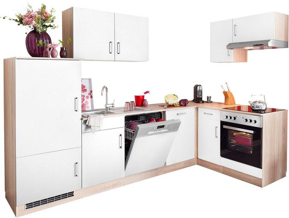 HELD MÖBEL Winkelküche »Melbourne«, mit E-Geräten, Stellbreite 280 x 160 cm  online kaufen | OTTO