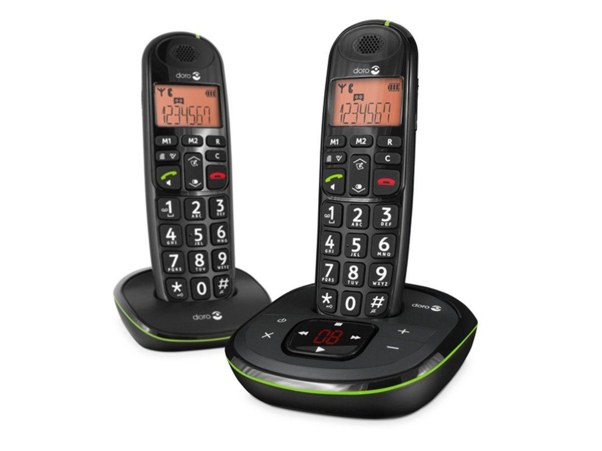 Doro Telefon analog schnurlos »PhoneEasy 105wr Duo«