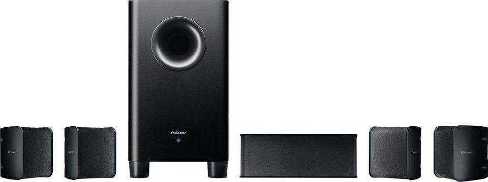 Pioneer S-HS100 Lautsprecher-Set in schwarz