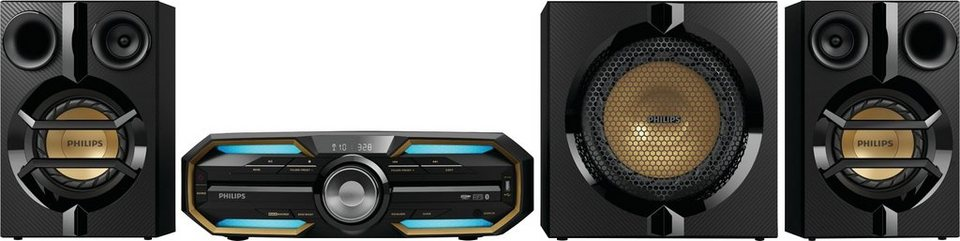 Philips FX55/12 Kompaktanlage, Bluetooth, NFC, 1x USB in schwarz