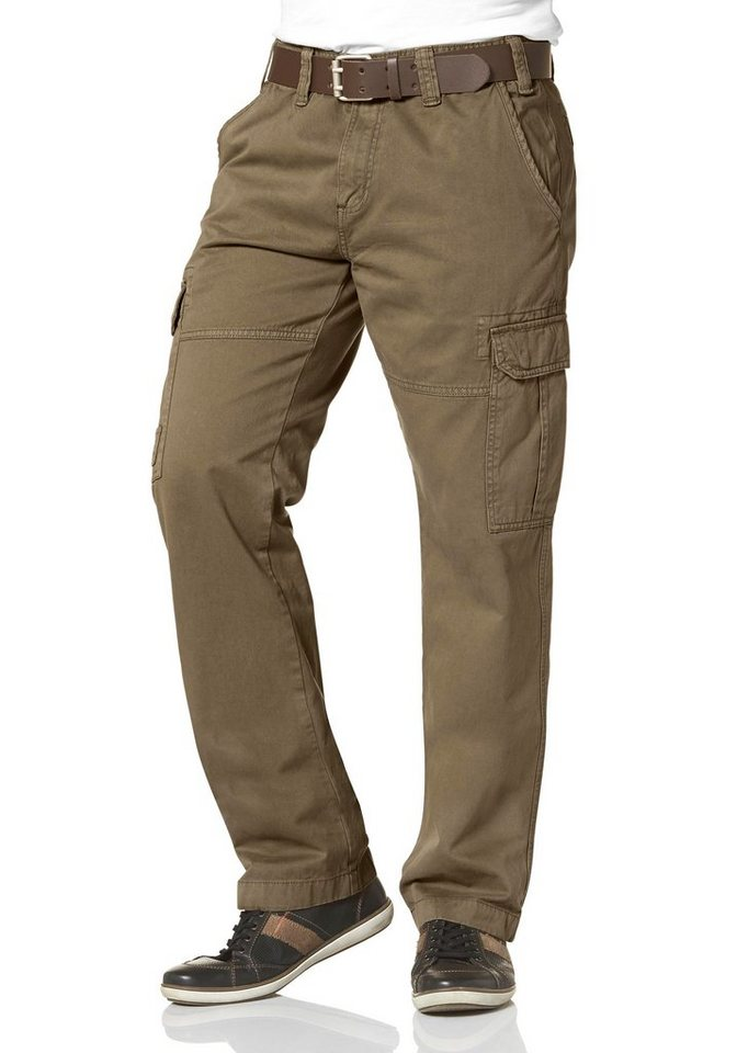 Man's World Cargohose in khaki
