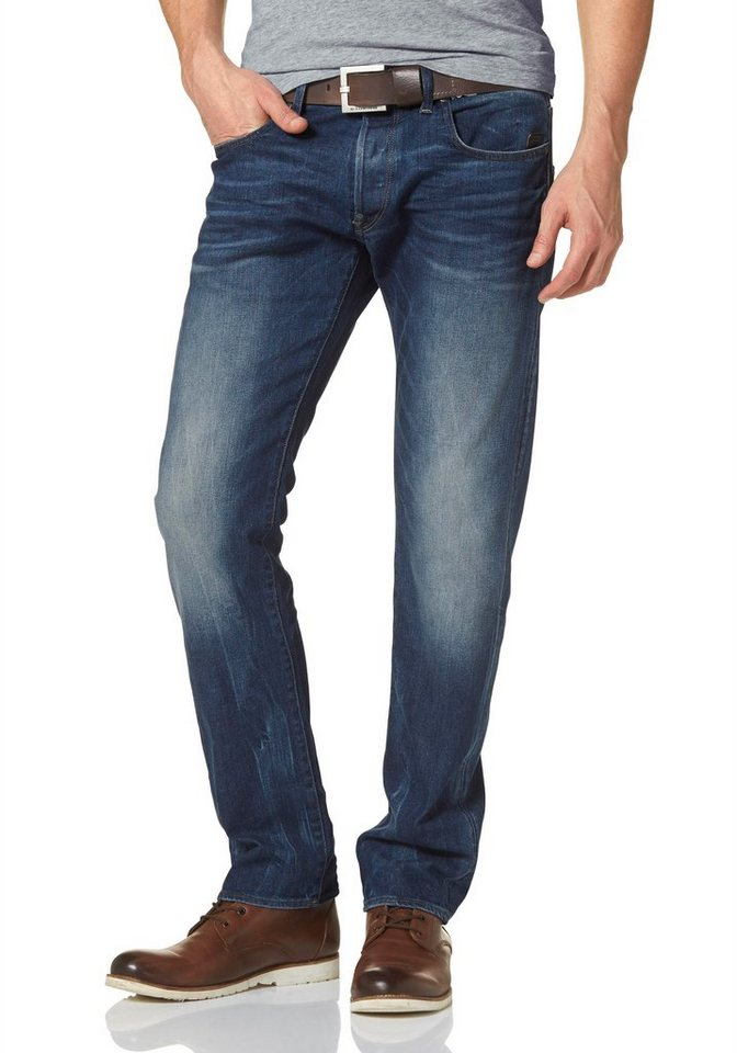 G-Star Straight-Jeans »Defend Straight« in medium-aged