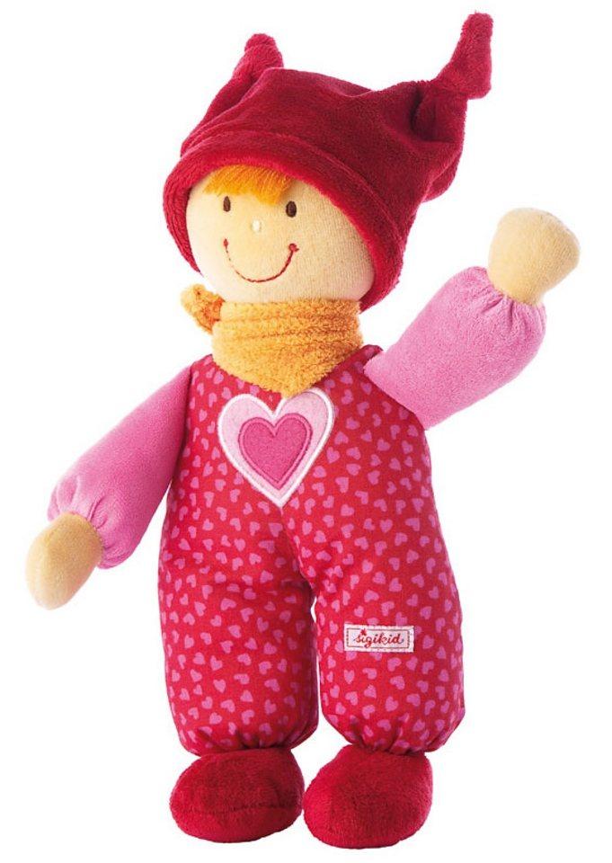 Puppe, »Babydolly - rot«, sigikid®