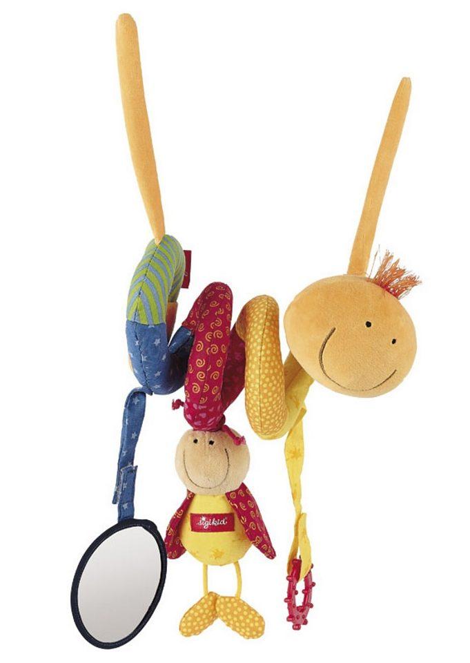 sigikid®, Kinderwagenspielzeug zum Anhängen, »Raupe«