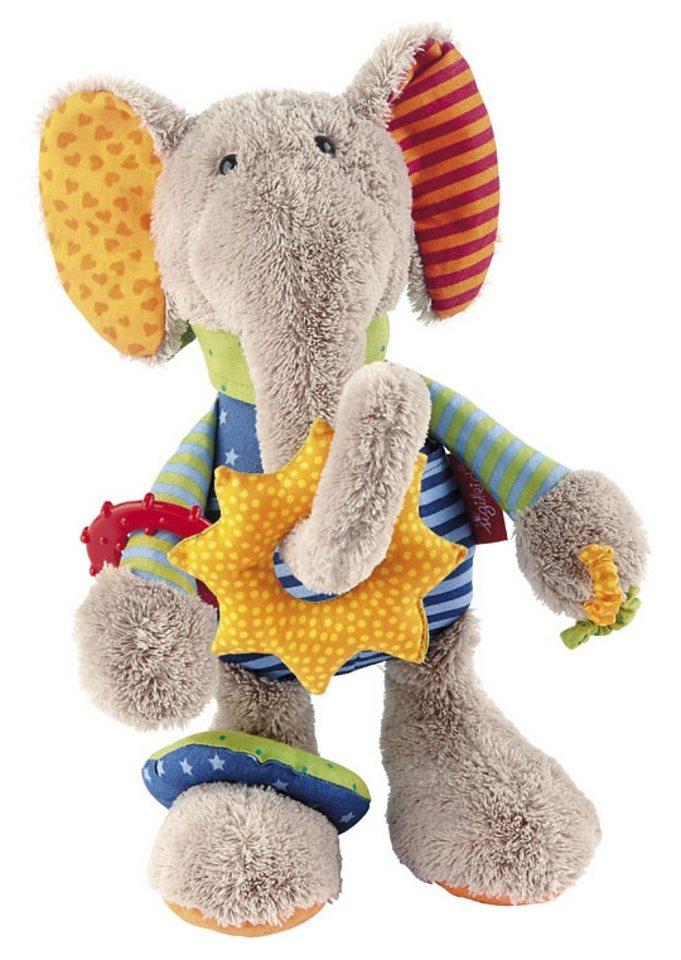 sigikid®, Greifling, »Erkennen und Entdecken - Aktiv Elefant«