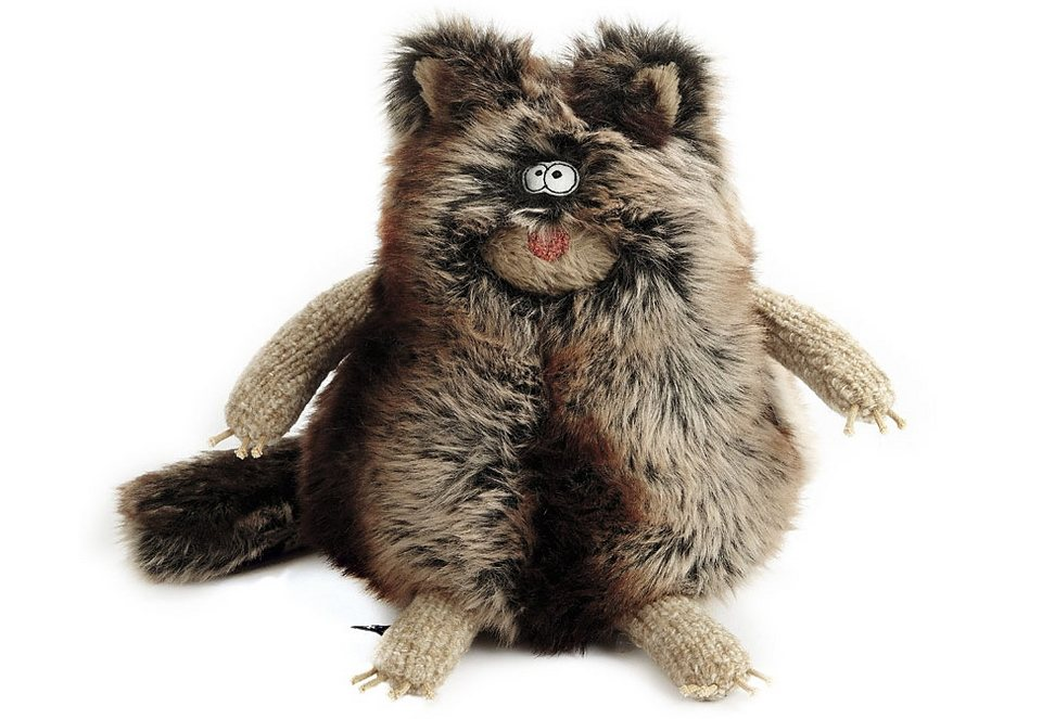 Plüschtier, »Beasts - Katze Fritten Fritze«, sigikid® in braun