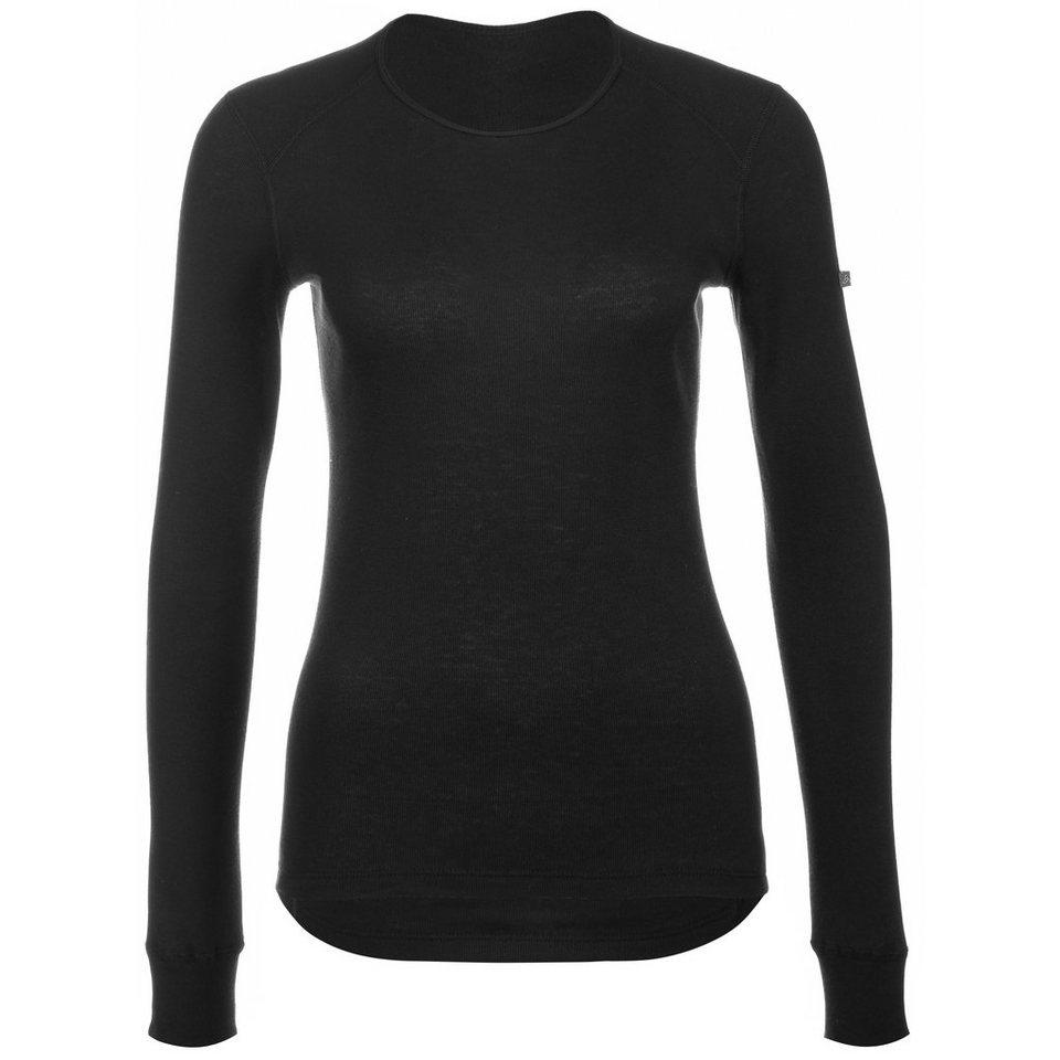 ODLO Crew Neck Warm Funktionsshirt Damen in schwarz