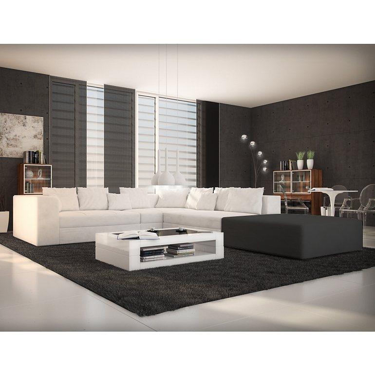 innocent ecksofa kunstleder wei mit ottomane links diva online kaufen otto. Black Bedroom Furniture Sets. Home Design Ideas