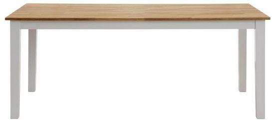 Home affaire Esstisch »Samba«, aus massivem Buchenholz, in verschiedenen Tischbreiten erhältlich
