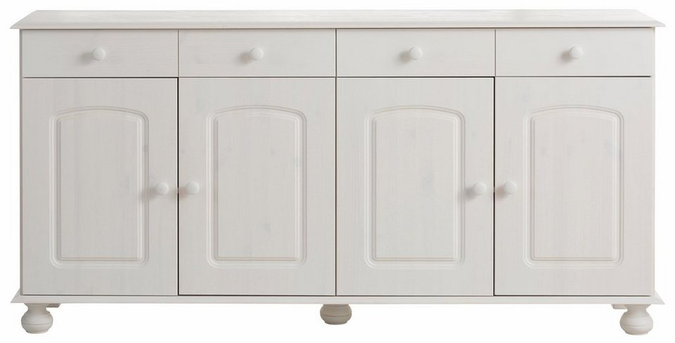 Sideboard, Home affaire, Breite 161 cm in weiss