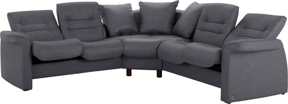 Stressless® Polsterecke Low »Sapphire«, gleichschenklig in grey