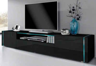 Tv lowboard schwarz  TV-Lowboard in schwarz online kaufen   OTTO