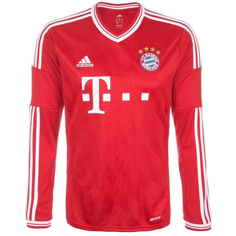 adidas Performance FC Bayern München Trikot Home 2013/2014 Herren in rot / weiß