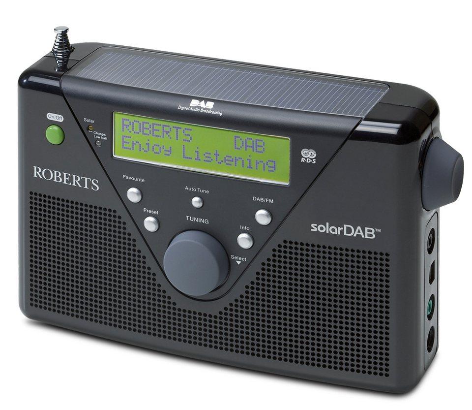 Roberts Radio Solarradio »solarDAB 2« in schwarz