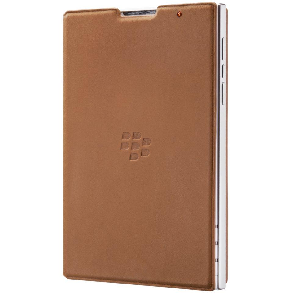 BlackBerry Handytasche »Book Cover Leder für Passport, Hellbraun« in Braun