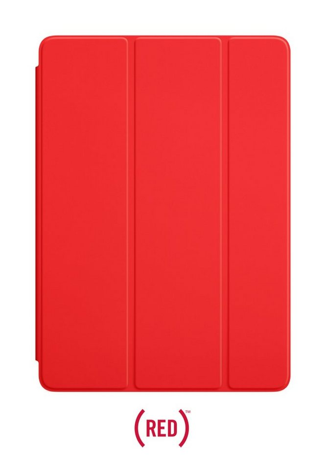 APPLE Schutzhülle »iPad Air 1, 2 Smart Cover Rot (MGTP2ZM/A)« in rot
