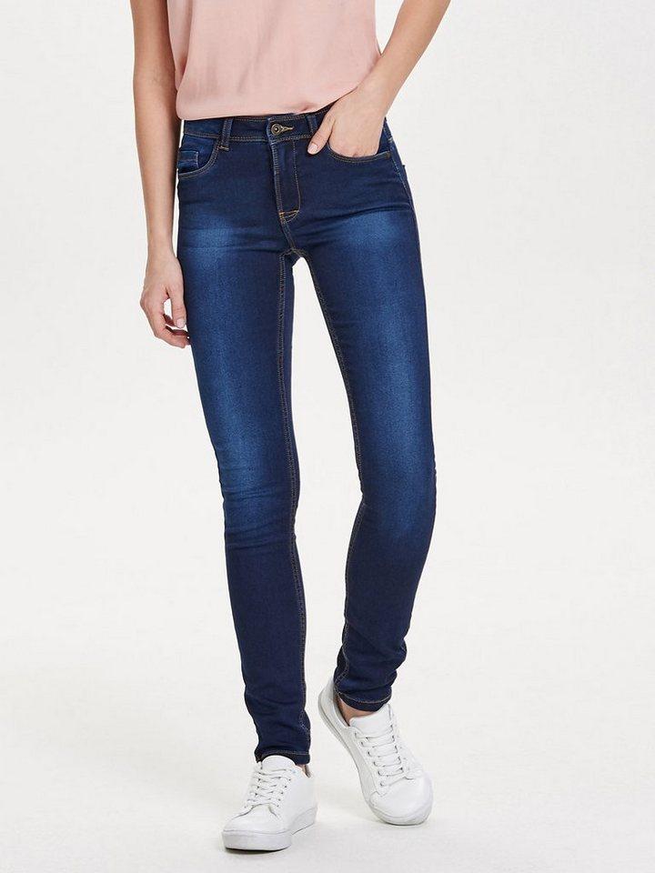 Only Skinny reg. soft ultimate Jeans in Dark Blue Denim
