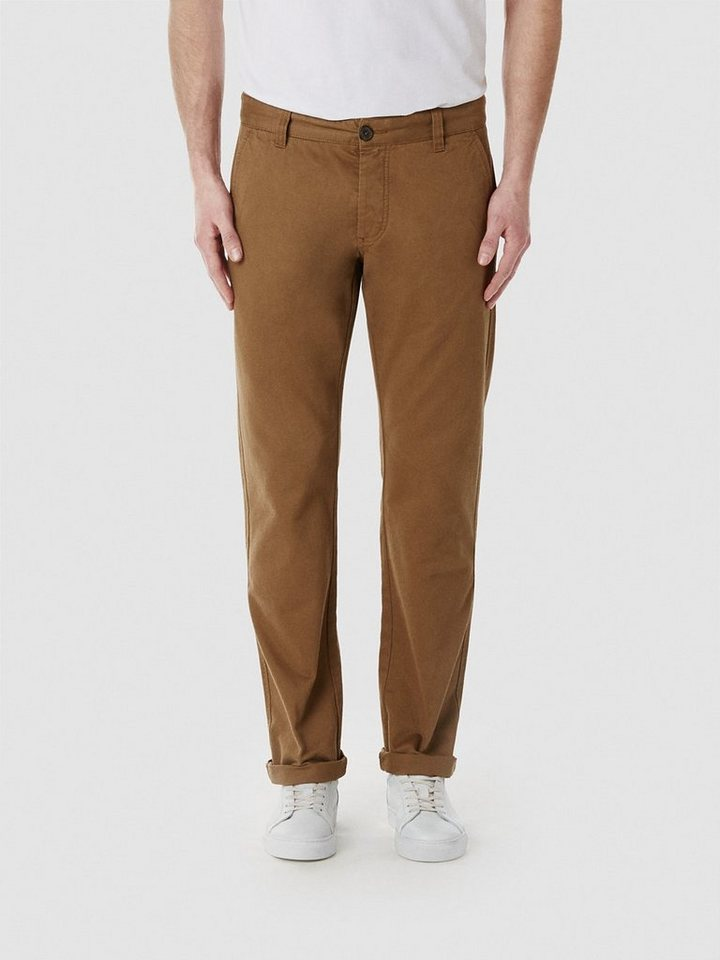 Selected Camelfarbene Regular Fit - Chino in Dark camel