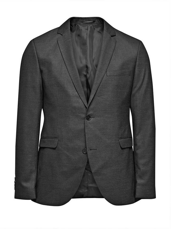 Jack & Jones Grau Blazer in Dark Grey