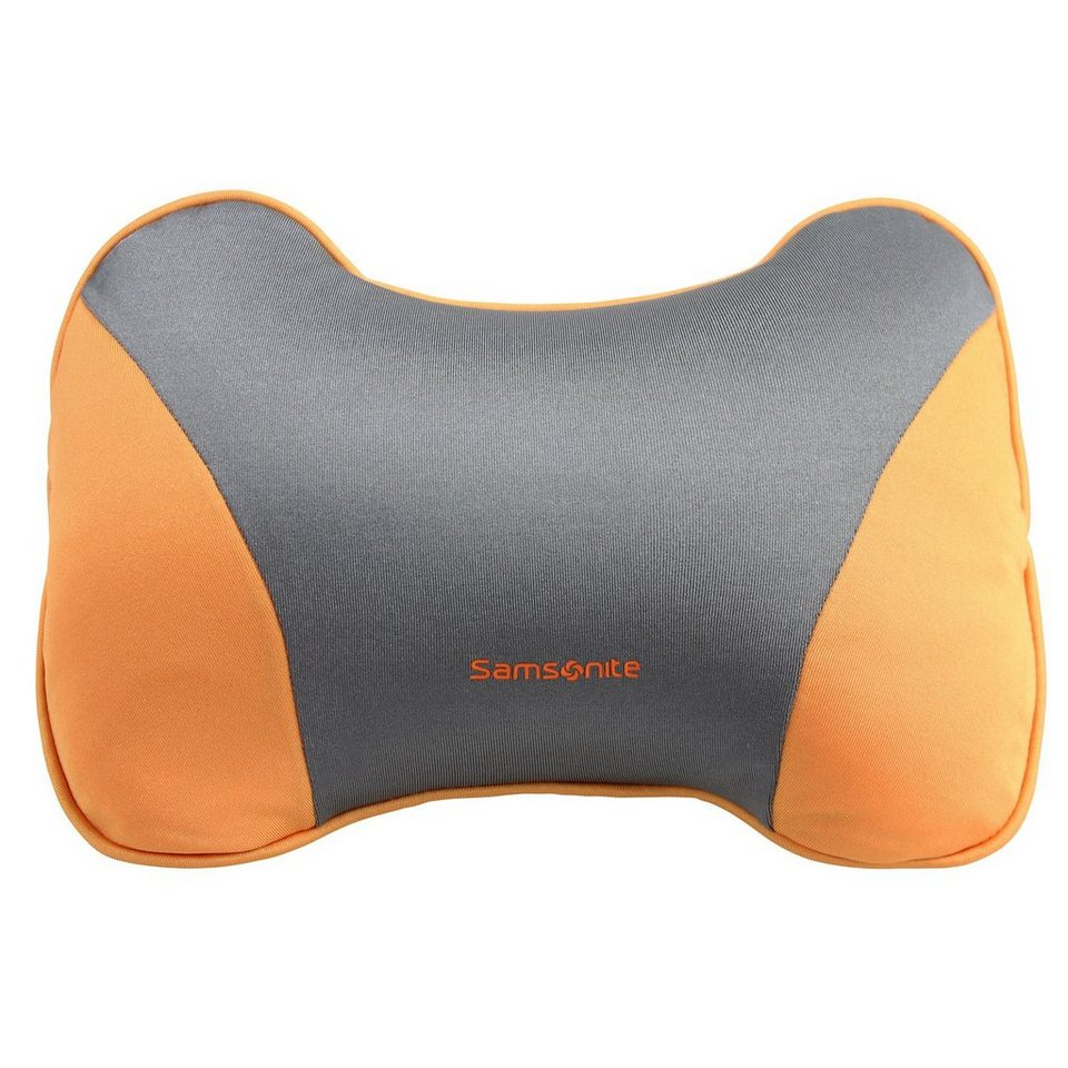 Samsonite Travel Accessories Travel Neck Pillow Nackenkissen in graphite orange