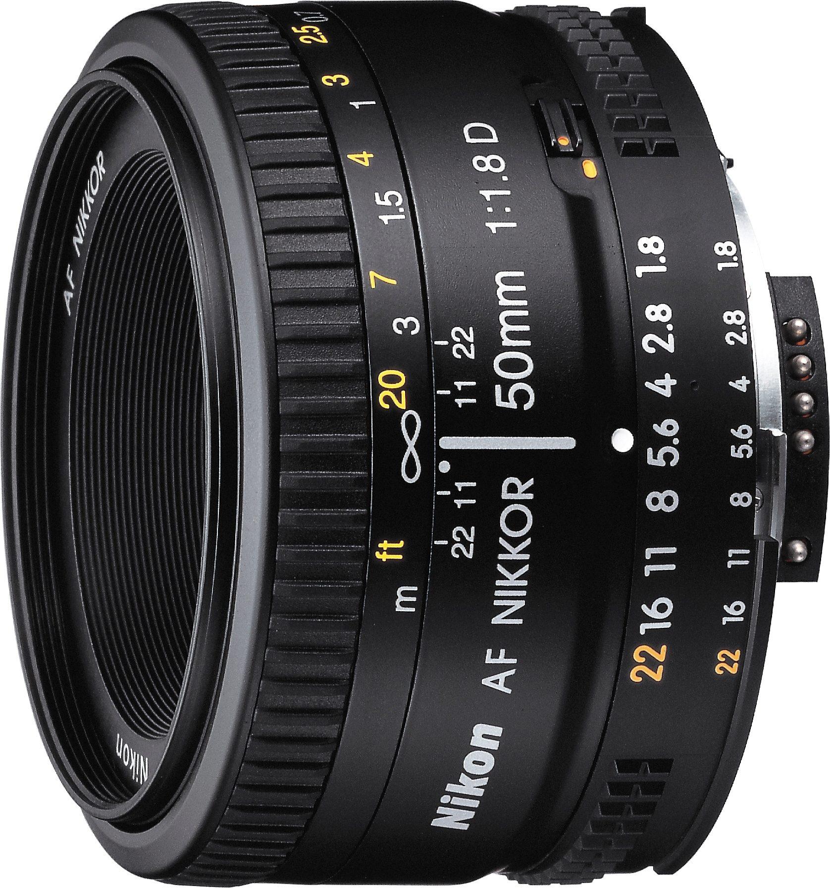 Nikon AF Nikkor 50 mm 1:1,8D Festbrennweite Objektiv