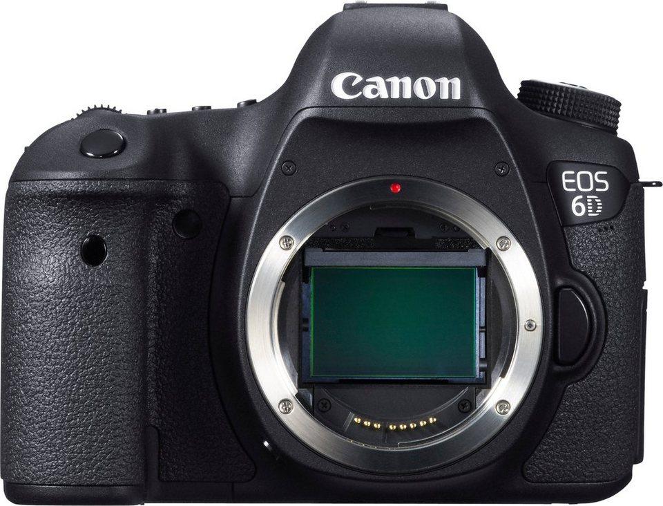 Canon EOS 6D Body Spiegelreflex Kamera, 20,2 Megapixel, 7,7 cm (3 Zoll) Display in schwarz