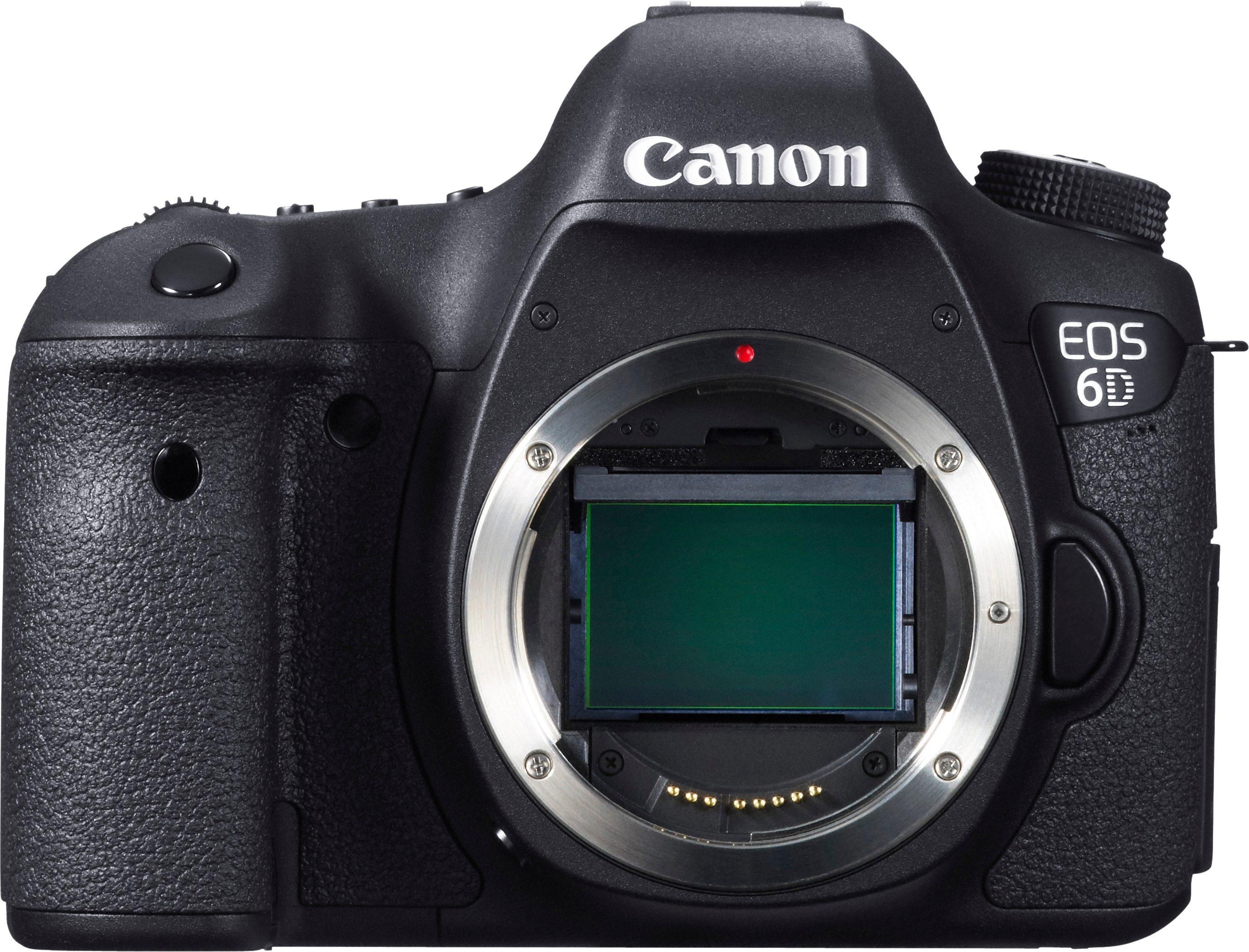 Canon EOS 6D Body Spiegelreflex Kamera, 20,2 Megapixel, 7,7 cm (3 Zoll) Display