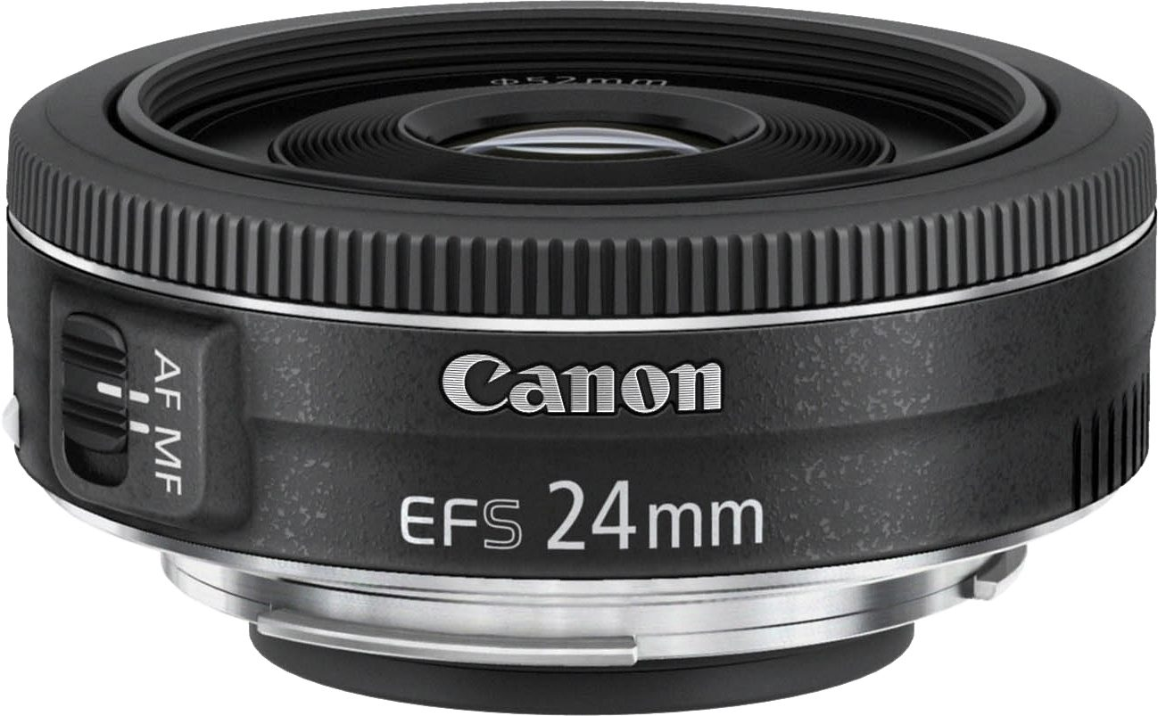 Canon EF-S 24mm 1:2,8 STM Pancake Objektiv
