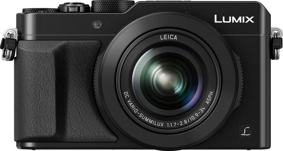 Lumix Panasonic DMC-LX100EG Kompakt Kamera, 12,8 Megapixel, 3x opt. Zoom, 7,5 cm (3 Zoll) Display in schwarz