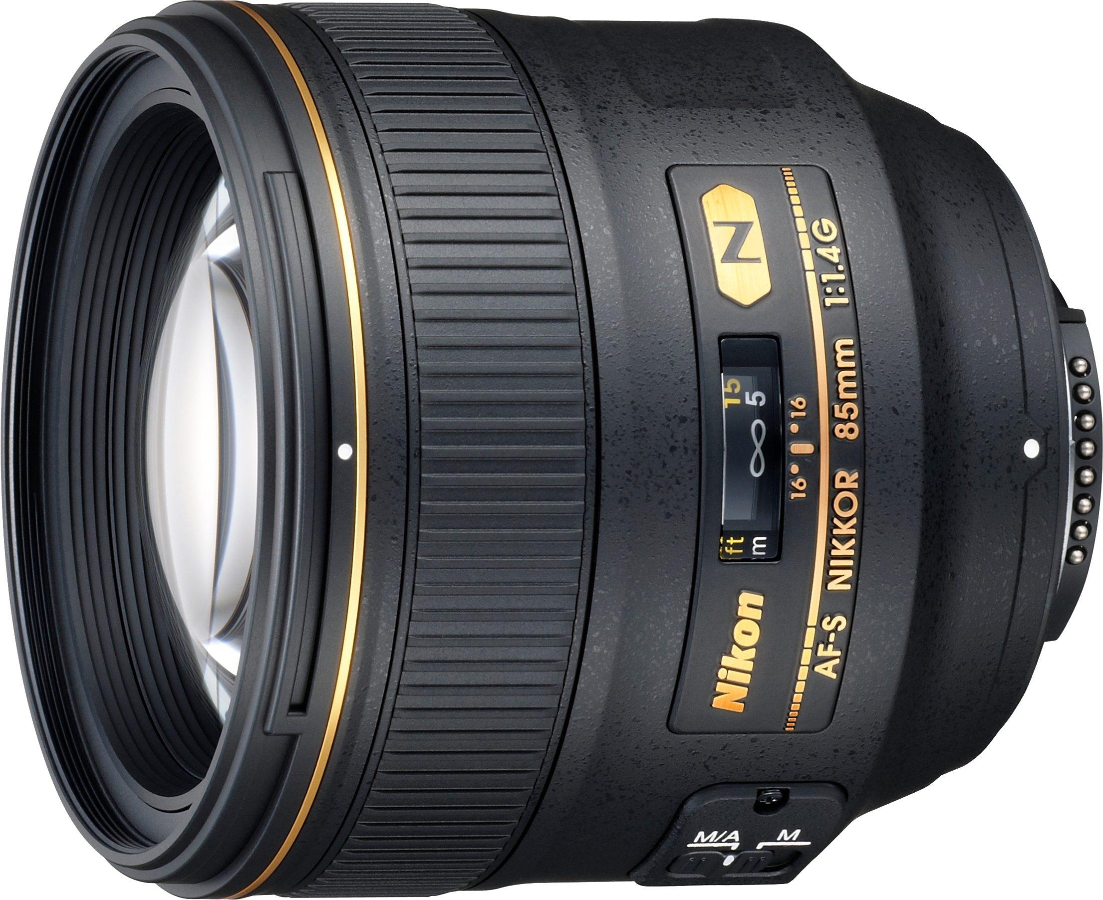 Nikon AF-S NIKKOR 85 mm 1:1,4G Tele Objektiv