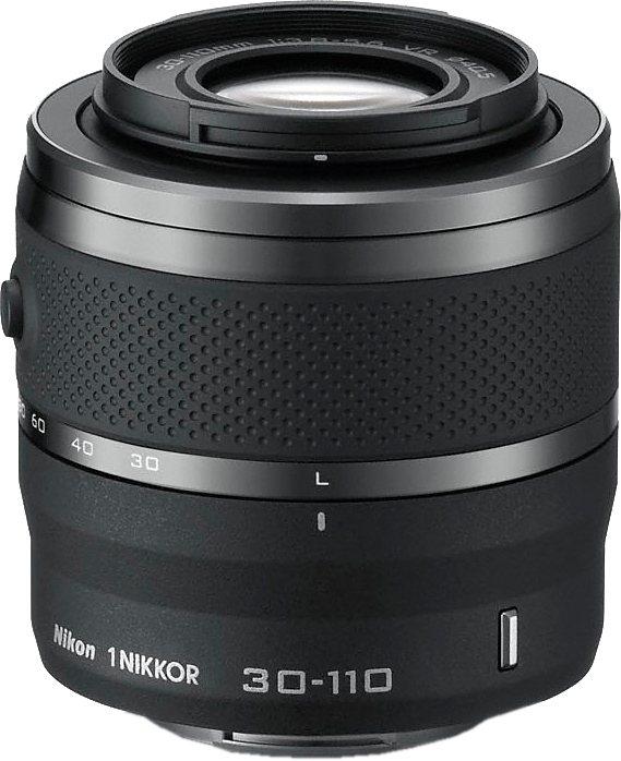 NIKON 1 NIKKOR VR 30-110mm Telezoom Objektiv in schwarz