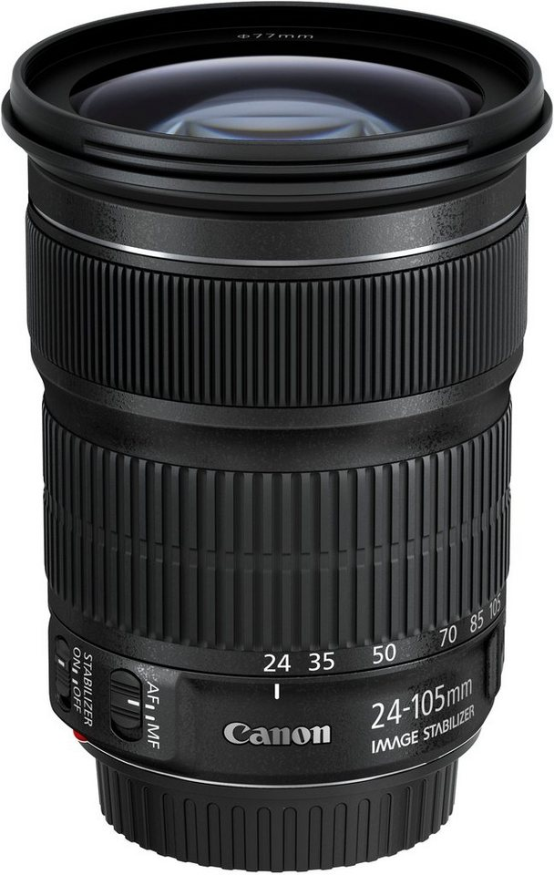 Canon EF 24-105mm 1:3,5-5,6 IS STM Standardzoom Objektiv in schwarz