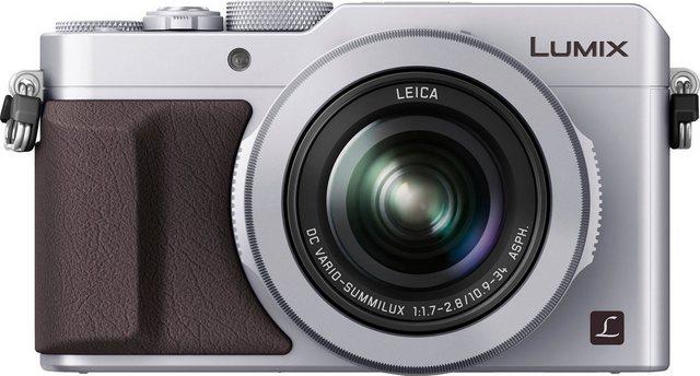 Digitalkameras - Lumix Panasonic »DMC LX100EG« Kompaktkamera (Leica DC Vario Summilux, 12,8 MP, 3x opt. Zoom, WLAN (Wi Fi), NFC, 4,3 fach optischer Zoom)  - Onlineshop OTTO
