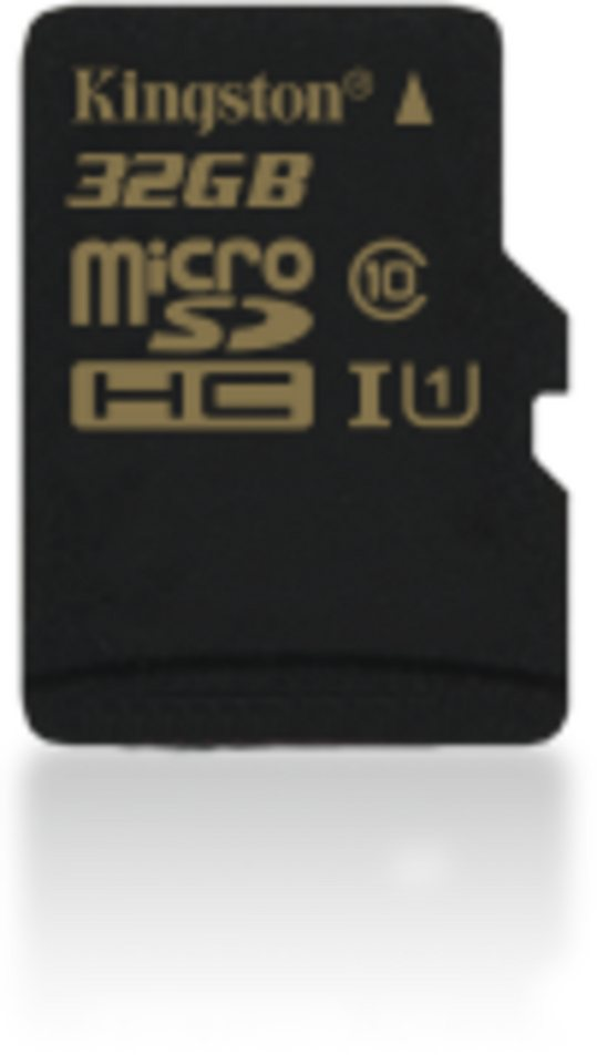 Kingston Speicherkarte »32GB microSDHC Class 10 UHS-I 90R/45W Single Pack« in Schwarz