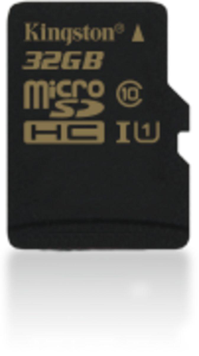 Kingston Speicherkarte »32GB microSDHC Class 10 UHS-I 90R/45W Single Pack«