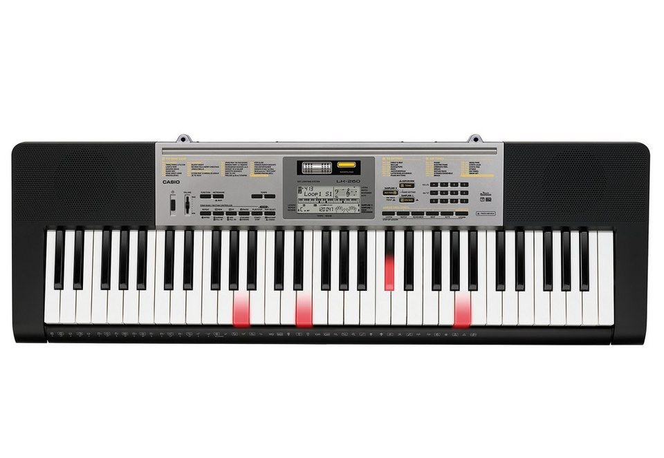 Keyboard inkl. Netzadapter, »LK 260«, Casio®
