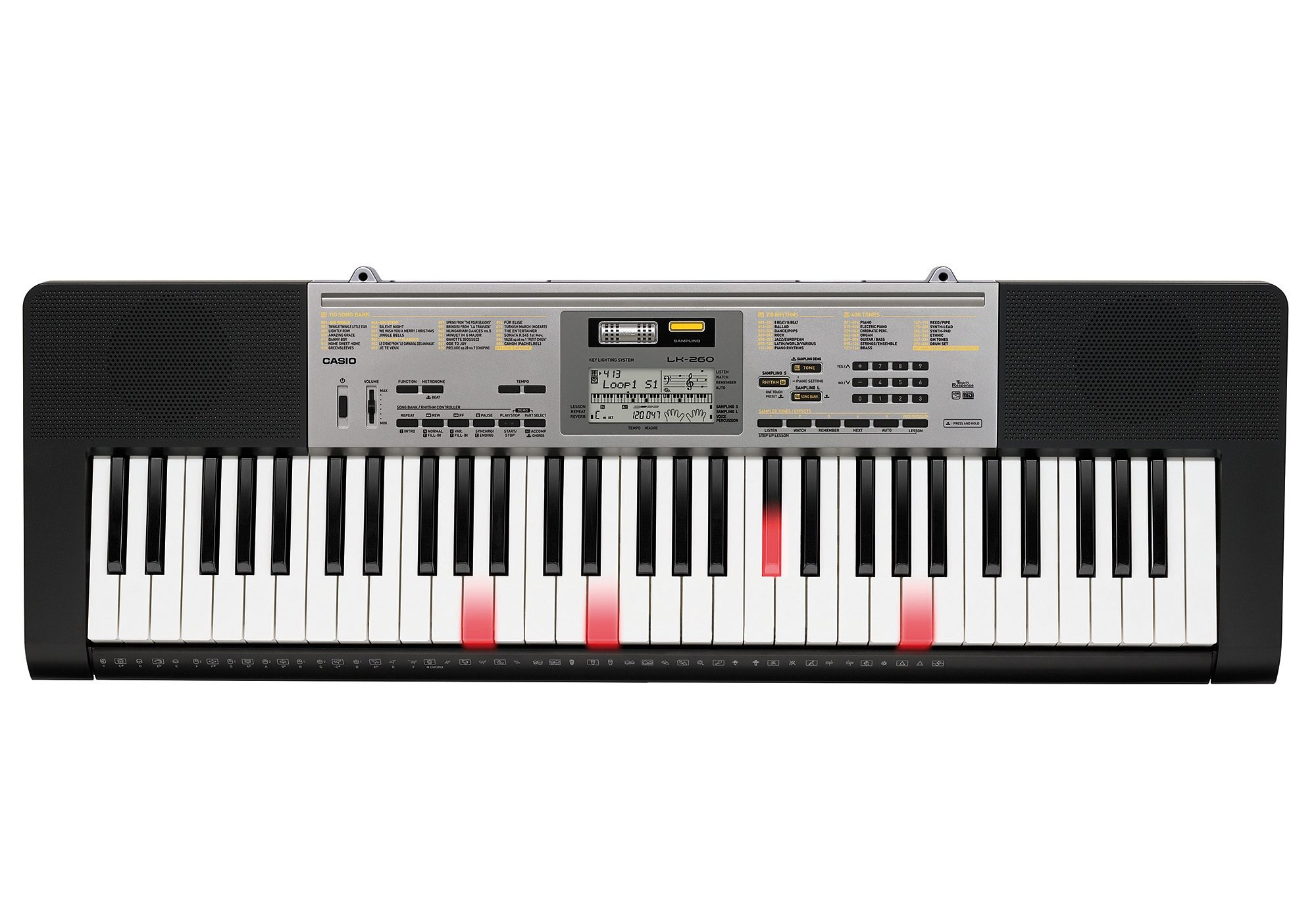 Casio® Keyboard inkl. Netzadapter, »LK 260«