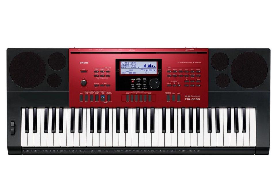 Keyboard inkl. Netzadapter, »CTK 6250«, Casio®