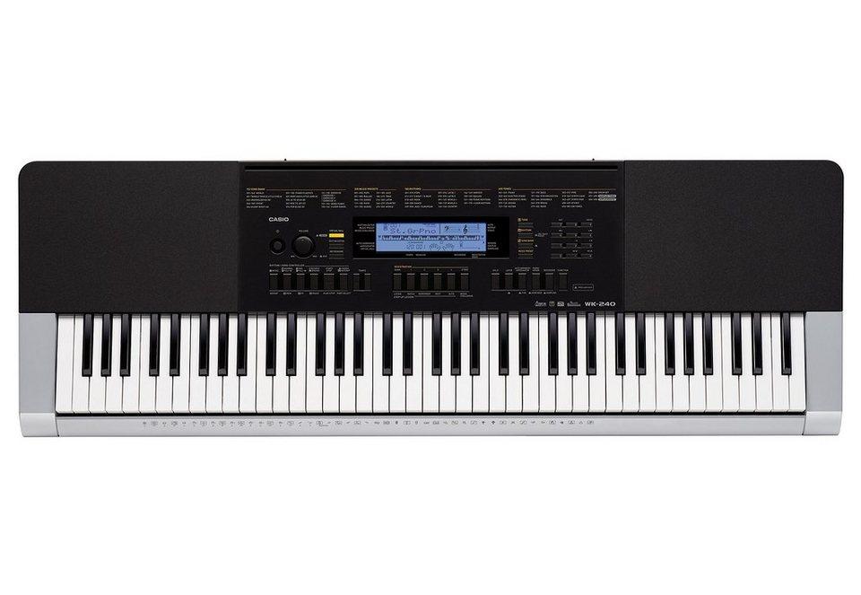 Casio® Keyboard inkl. Netzadapter, »WK 240«