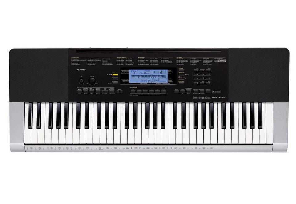 Casio® Keyboard inkl. Netzadapter, »CTK 4400«