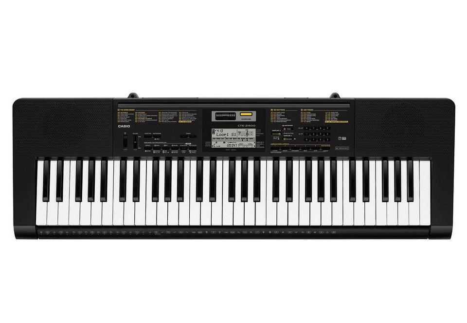 Keyboard inkl. Netzadapter, »CTK 2400«, Casio®