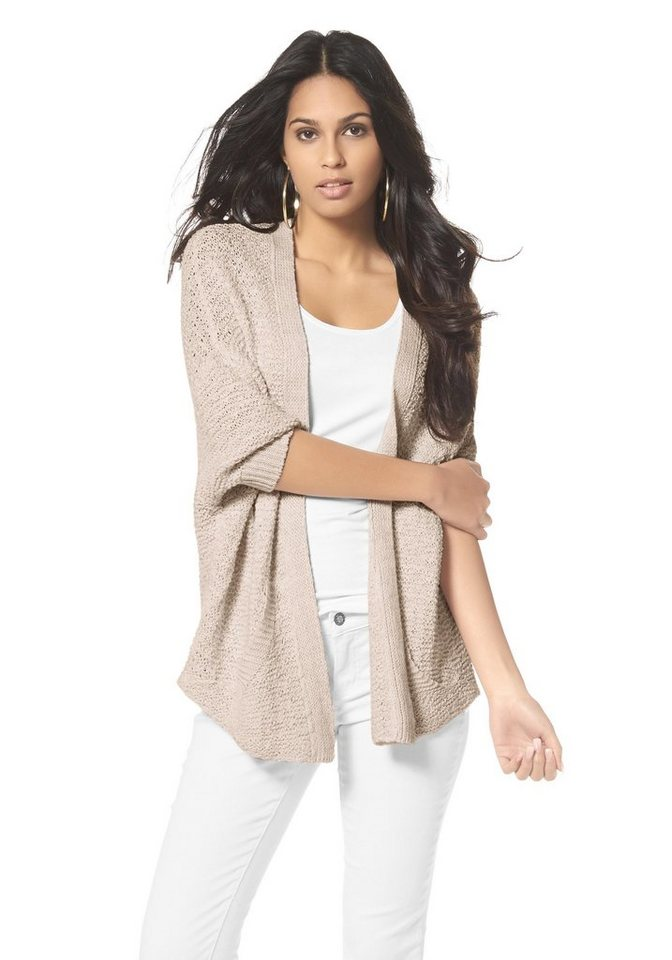 Laura Scott Cardigan in apricot