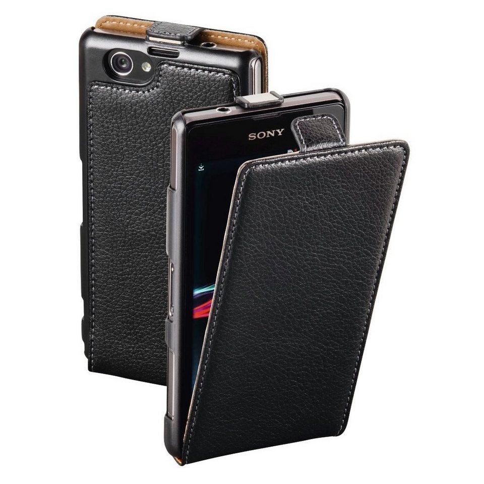 Hama Flap-Tasche Smart Case für Sony Xperia Z1 Compact, Schwarz in Schwarz