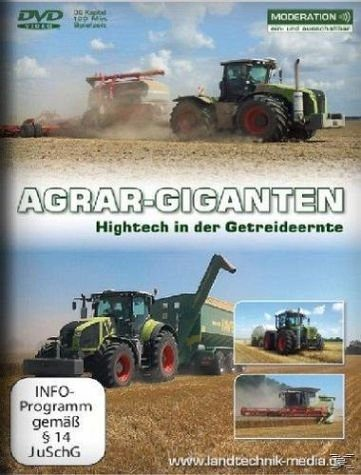 DVD »Agrar-Giganten - Hightech in der Getreideernte«