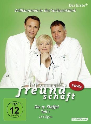 DVD »In aller Freundschaft - 15. Staffel - 1. Teil«