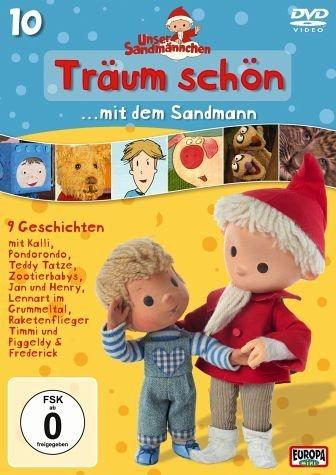DVD »Unser Sandmännchen Folge 10 - Träum schön mit...«