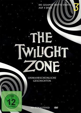 DVD »The Twilight Zone - Die gesamte dritte Staffel...«